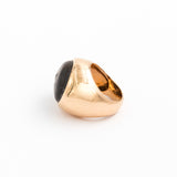 Men's Style Gold Eyeball Beach Stone