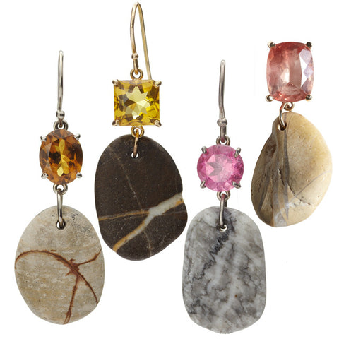 Beach Rock Earrings