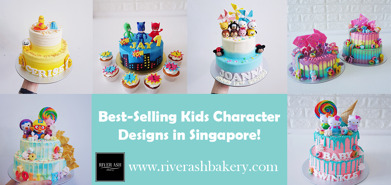 Top Best Selling Kids Character Designs In Singapore