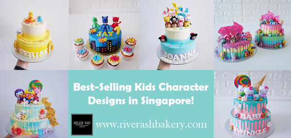 Top Best-Selling Kids Character Designs in Singapore!