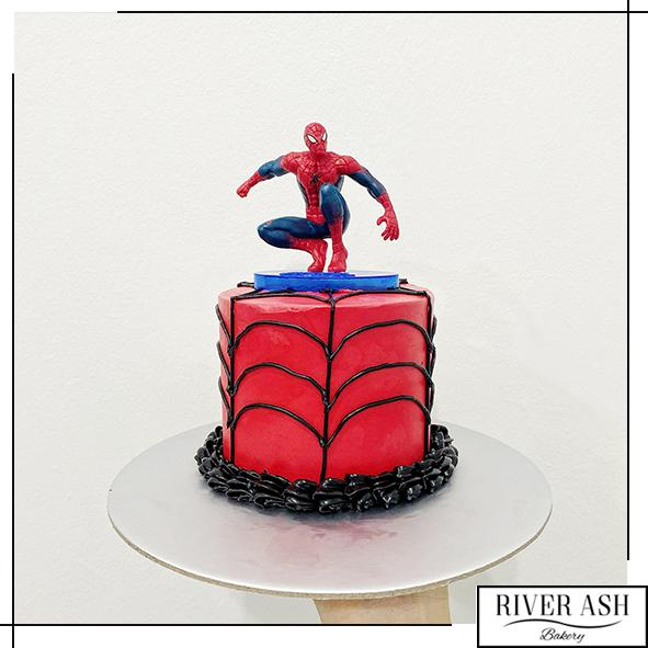 "4"" Tall Spider Cake-River Ash Bakery"
