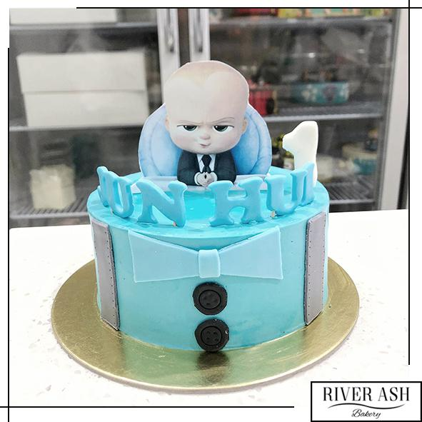 Baby is the Boss Cake-River Ash Bakery