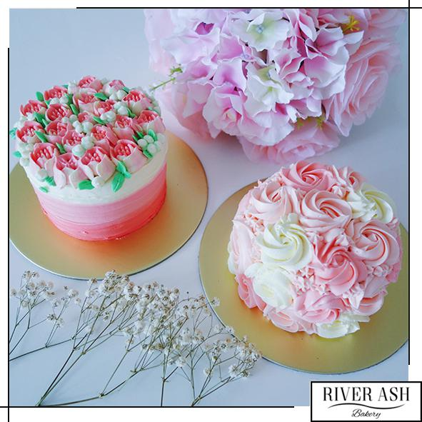 Bed of Tulips-Mother's Day Special Cakes-River Ash Bakery