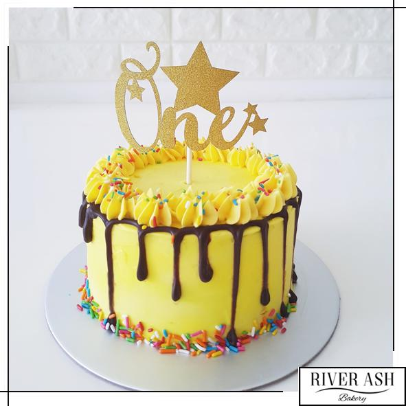 Birthday Sprinkles Cake-River Ash Bakery