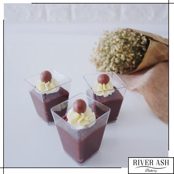 Chocolate Mousse Cups-River Ash Bakery