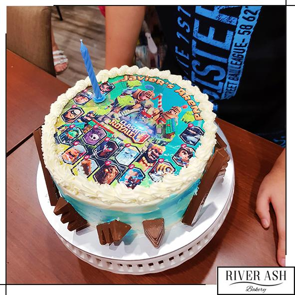 Clash Royale Gamers Cake-River Ash Bakery