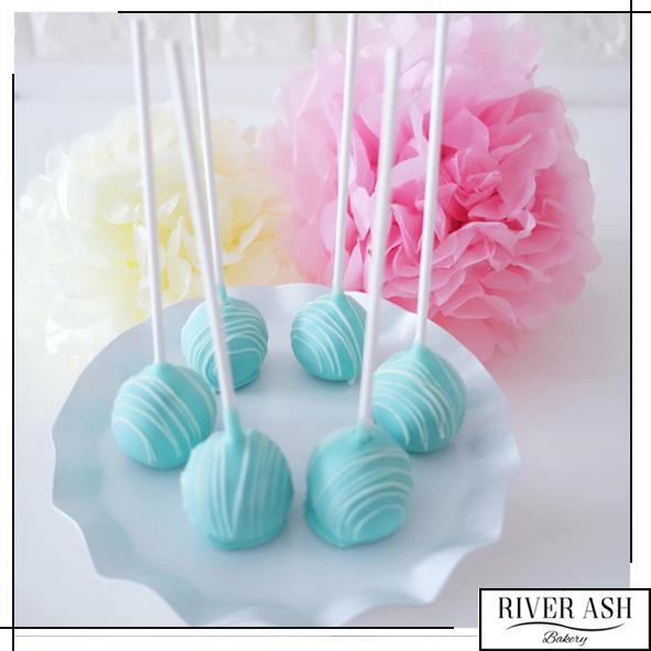 Customized Cake Pops-River Ash Bakery
