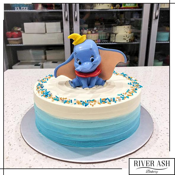 Dumbo Cake-River Ash Bakery