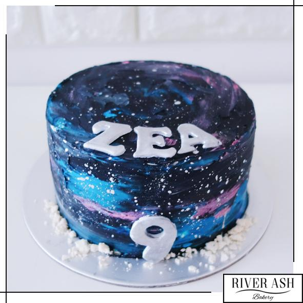 Galaxy Dream Cake (Same Day)-River Ash Bakery