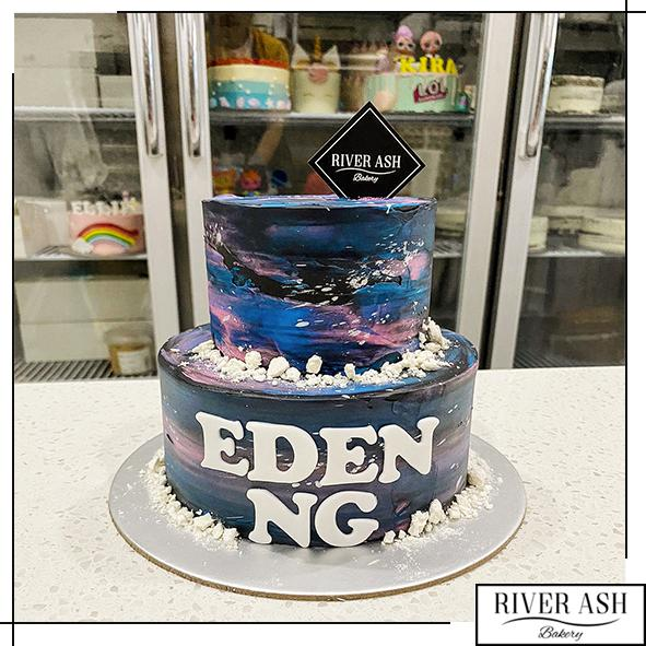 Galaxy Dream Cake-River Ash Bakery