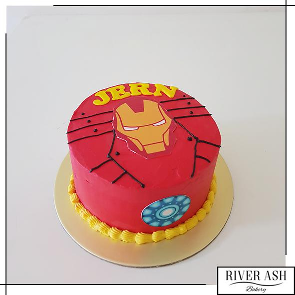 Iron Hero Cake-River Ash Bakery