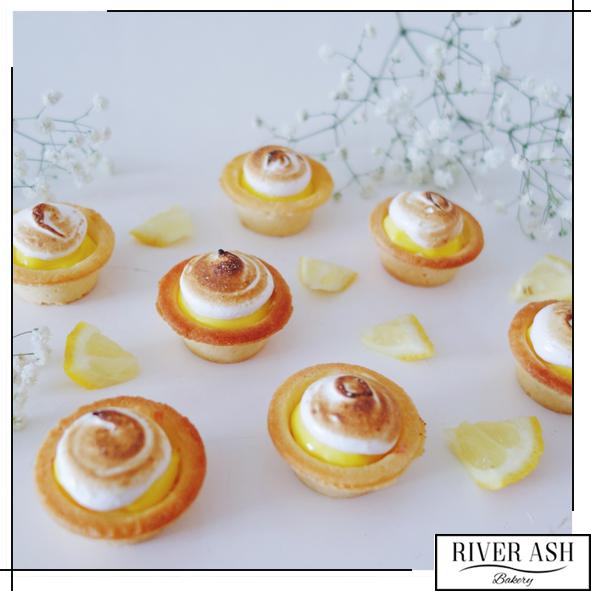 Lemon Meringue Tarts-River Ash Bakery
