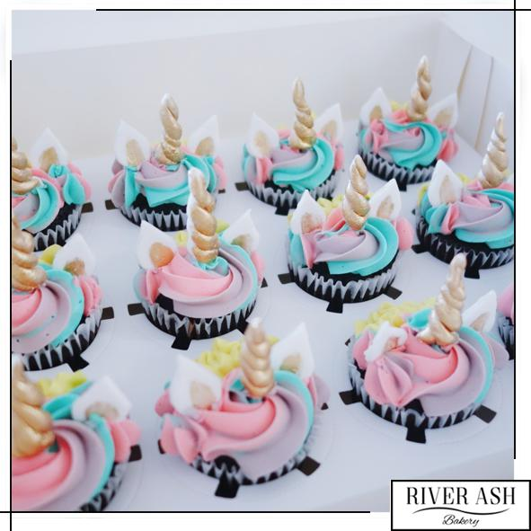 Magical Unicorn Cupcakes-River Ash Bakery
