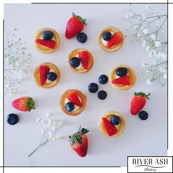 Mixed Berries Tarts-River Ash Bakery