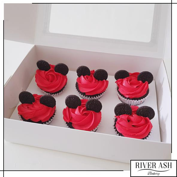 Mouse Cupcakes-River Ash Bakery