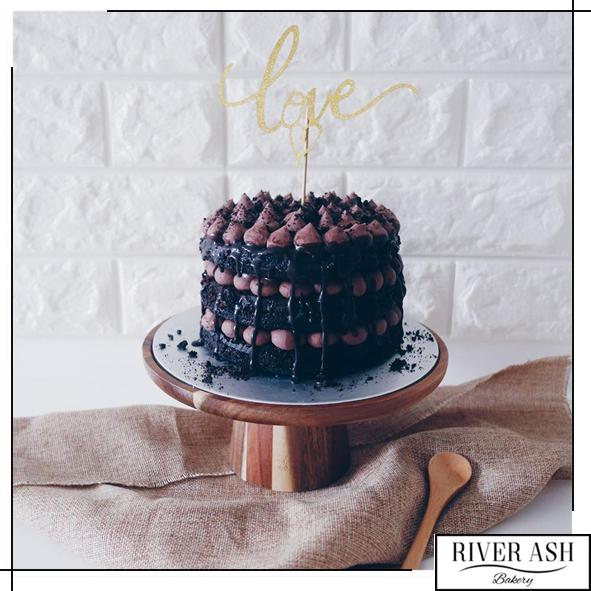 Naked Chocolate Dream Cake-River Ash Bakery