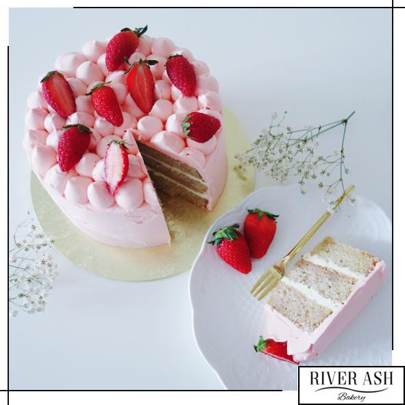 Strawberry Shortcake-River Ash Bakery