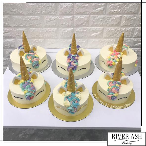 Unicorn Cake-River Ash Bakery