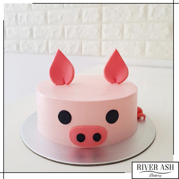 Year of the Pig Cake-River Ash Bakery