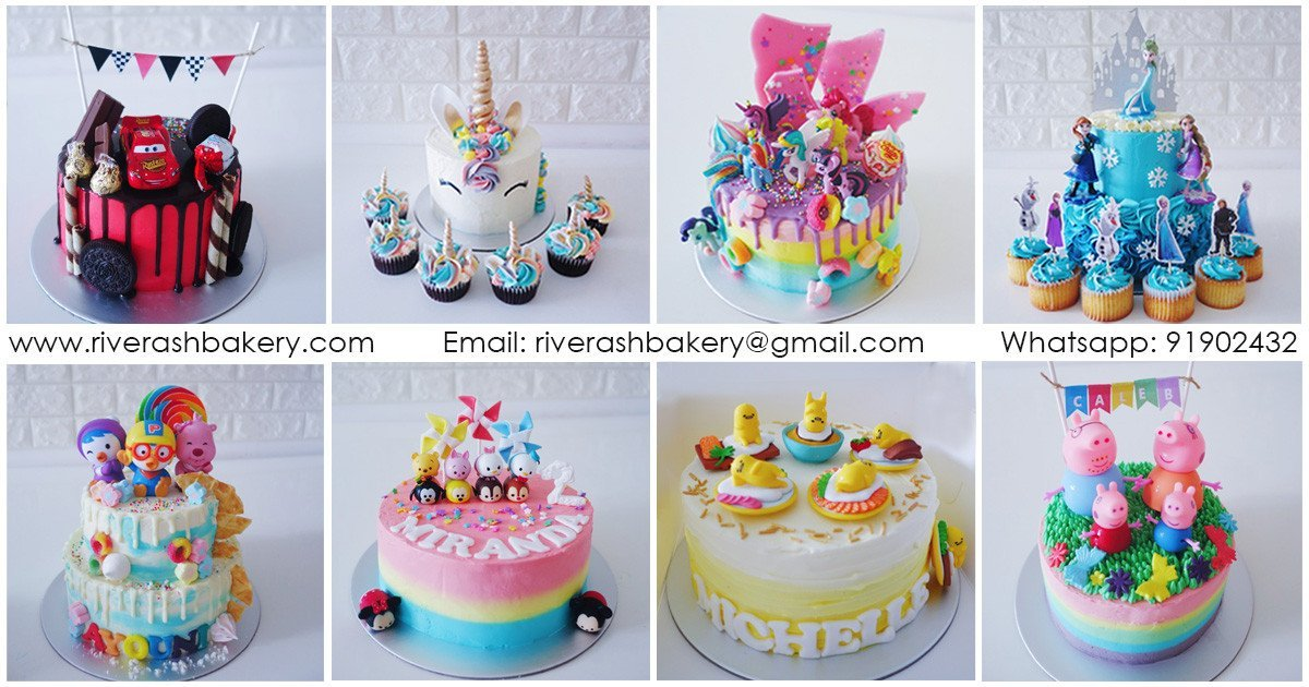 Kids Birthday Cakes Singapore
