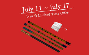 (1-week Limited Time Offer) Buy Shinobue Furyu, Get Free Shinobue Swab