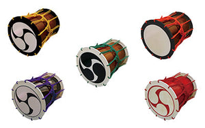 (Limited Items) Katsugi Oke Daiko with Various Colors and Designs