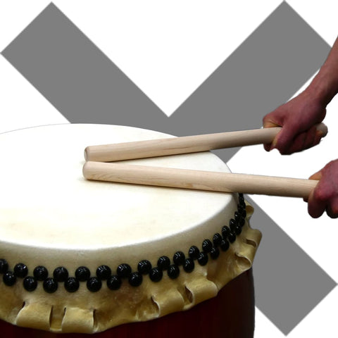 Majority of Bachi Hits Drum-head