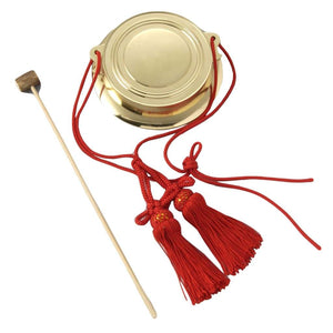 Chanchiki (Atarigane) with Tassel and Shumoku - Taiko Center Online Shop