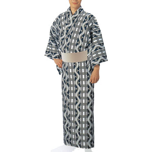 Yukata Robe Sugi 2334 for Men's - Taiko Center Online Shop