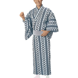 Yukata Robe Sugi 2340 for Men's - Taiko Center Online Shop