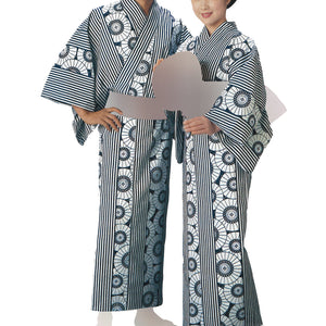Yukata Robe Sugi 2341 for Men's and Women's - Taiko Center Online Shop