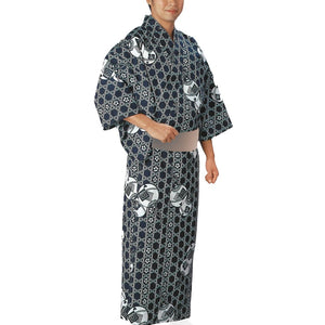Yukata Robe Sugi 2348 for Men's - Taiko Center Online Shop