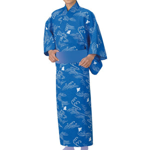 Yukata Robe Sugi 2350 for Men's - Taiko Center Online Shop