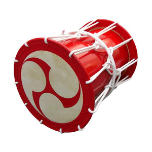 Katsugi Oke Daiko (1.4 shaku) (Rope: White) (Tomoe) (Display Model) - Taiko Center Online Shop