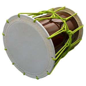 Katsugi Oke Daiko (1.6 shaku) (Rope: Light Green) (Display Model) - Taiko Center Online Shop