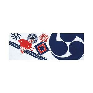 Silk Print Tenugui Towel Ryo - Taiko Center Online Shop