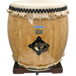 1.5 Shaku Nagado Daiko Eco RN15-184 with Square Stand (USED) - Taiko Center Online Shop