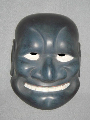 Kyogenmen (Kyogen Mask) Aobuaku KYG02-4 - Taiko Center Online Shop