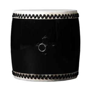 Eisa Odaiko (With A Stick) Black - Taiko Center Online Shop