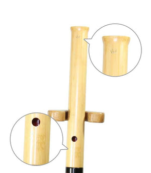 Bamboo Shakuhachi (Curved End) (Tozan) - Taiko Center Online Shop