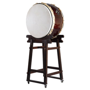 Ohira Daiko Thunder God Set (w/ Yagura Stand) - Taiko Center Online Shop
