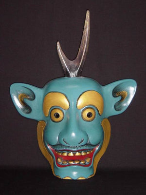 Kyodomen (Japanese Regional Mask) Fujin SP07 - Taiko Center Online Shop
