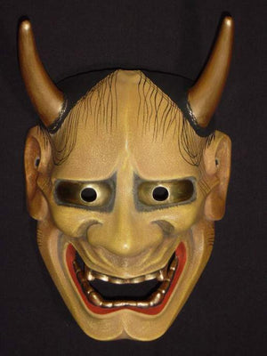 Nohmen (Noh Mask) Hannya NOH01-1 - Taiko Center Online Shop