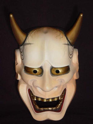 Nohmen (Noh Mask) Hannya NOH01-3 - Taiko Center Online Shop