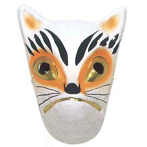Omen (Japanese Mask) Kitsune Fox 3286 - Taiko Center Online Shop