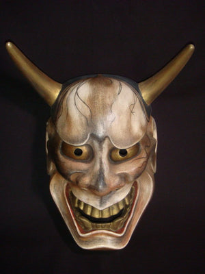 Nohmen (Noh Mask) Very Old Hannya NOH01K - Taiko Center Online Shop