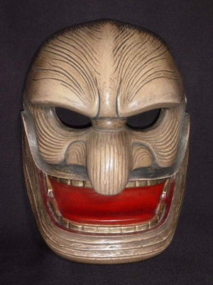 Kyodomen (Japanese Regional Mask) Kojinmen FLK02 - Taiko Center Online Shop