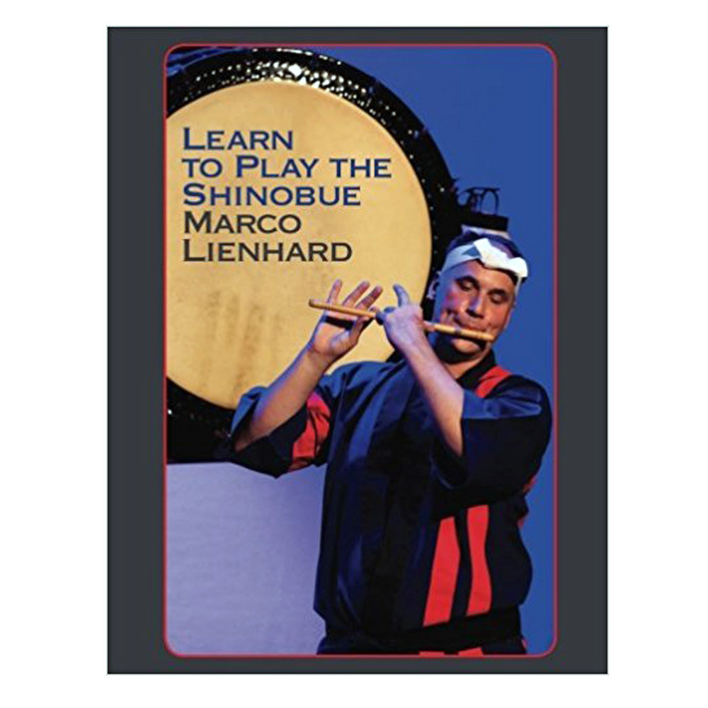 Learn To Play The Shinobue (Book) - Taiko Center Online Shop