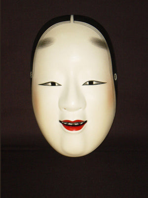 Nohmen (Noh Mask) Manbi NOH02-4 - Taiko Center Online Shop