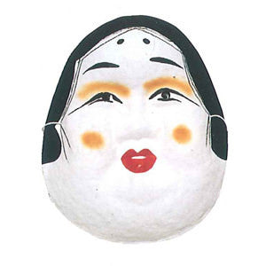 Omen (Japanese Mask) Okame 3284 - Taiko Center Online Shop